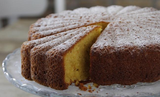 Tuinhuis van Charlotte taart