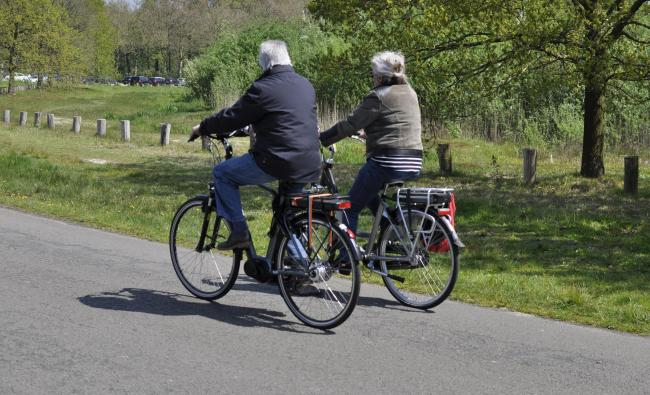 twee fietsers